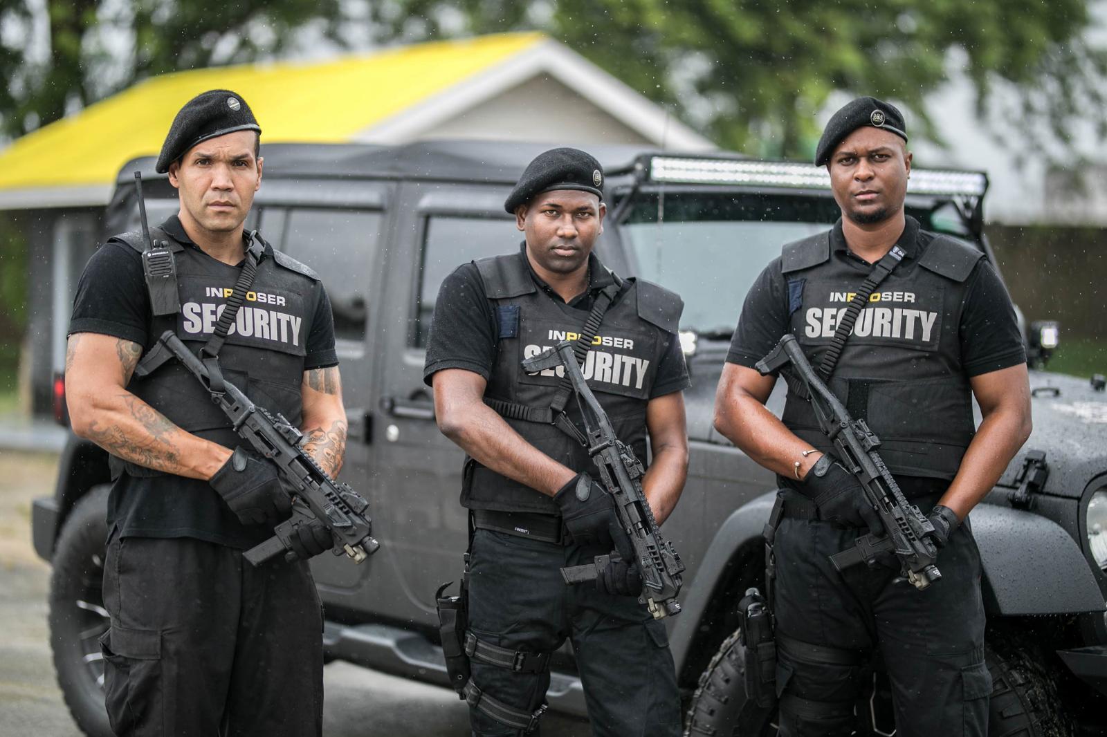 Armed response team